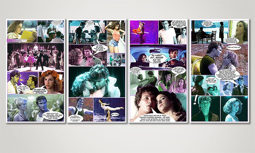 Art print Dirty Dancing 160x70x2cm