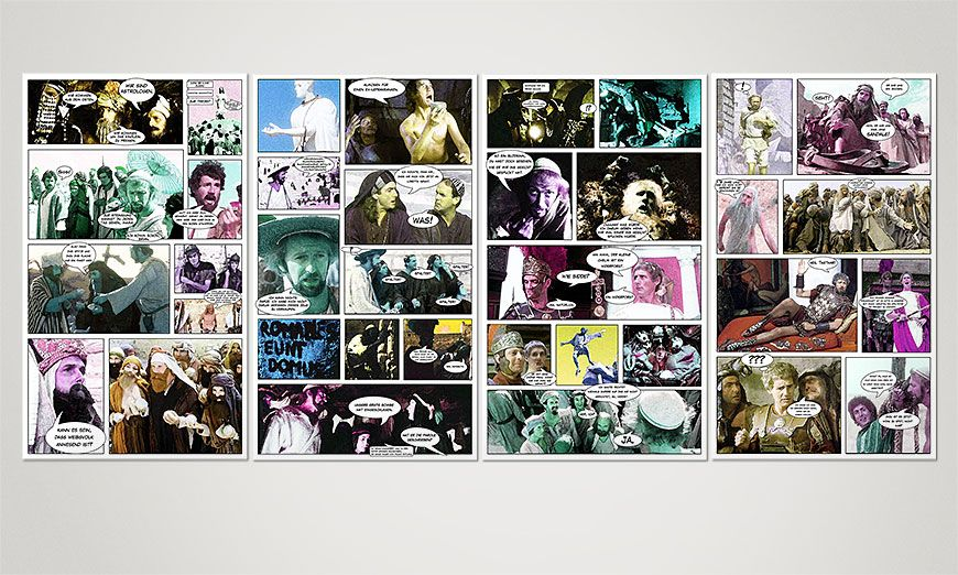 Art print Life of Brian 160x70x2cm