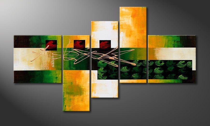 Beautiful painting Quiet Love 130x75x2cm