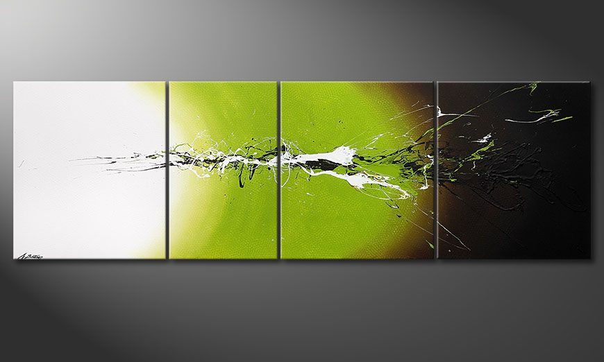 Big painting Juicy Splash 260x80x2cm