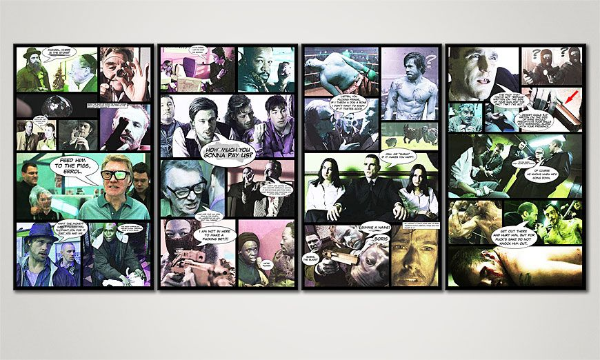 Canvas art Snatch 160x70x2cm