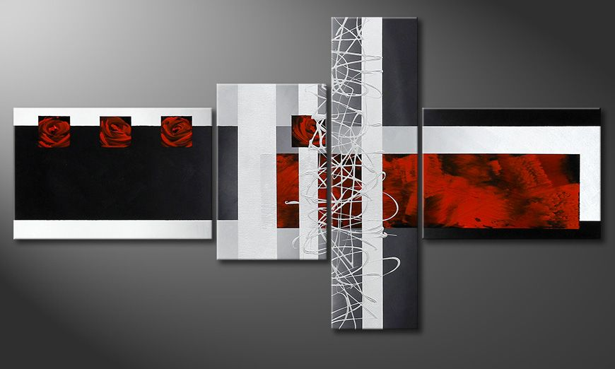 Eye-catching wall art Fameless Emotions 130x70x2cm