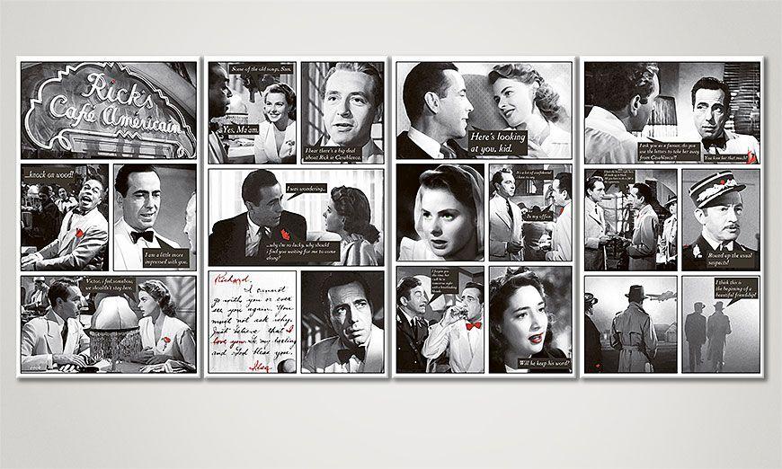 Modern Canvas print Casablanca 160x70x2cm