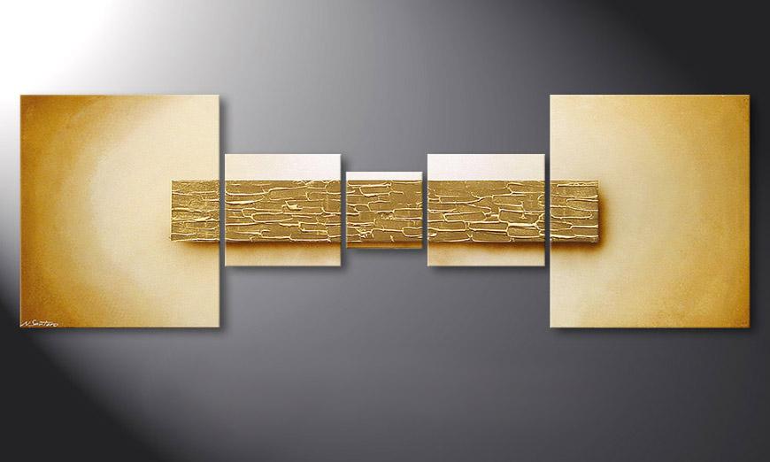 Painting Broken Gold in 180x60x2cm