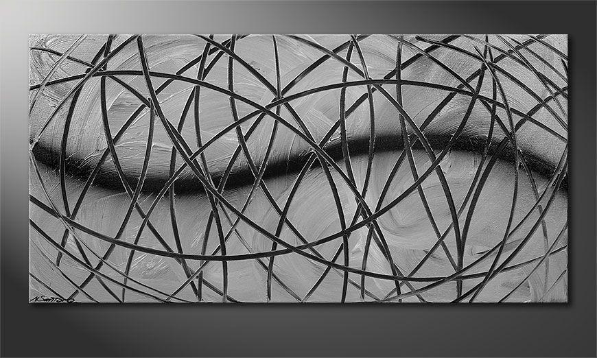Painting Broken White 120x60x2cm