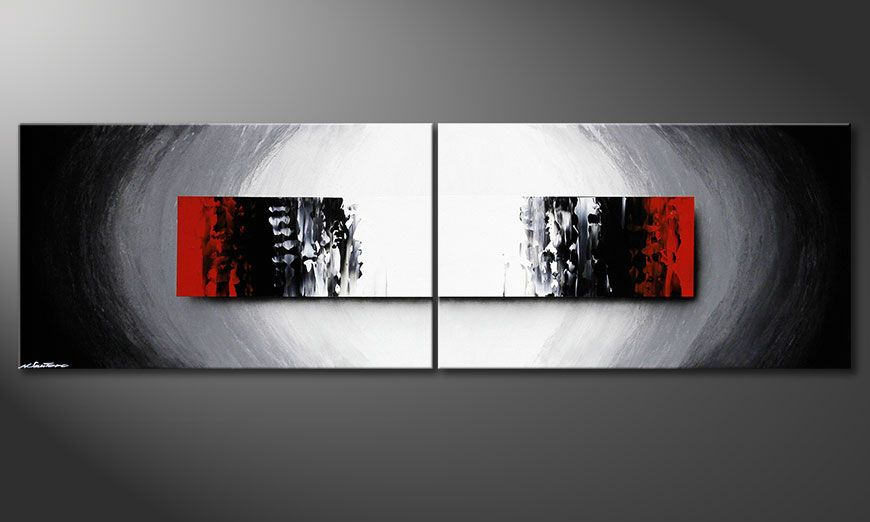 Painting Deep Space in 200x60x2cm