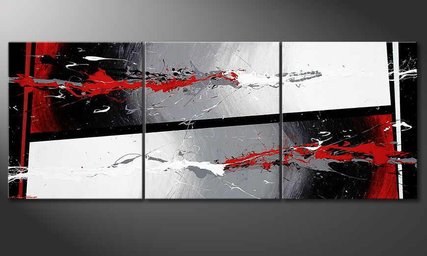 Painting Powerful Contrast 180x70x2cm