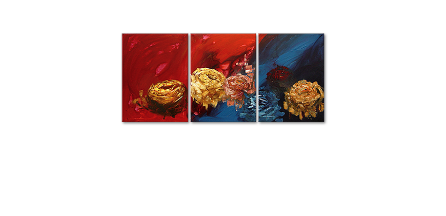 Spirit of Roses 180x80cm Hand painted painting