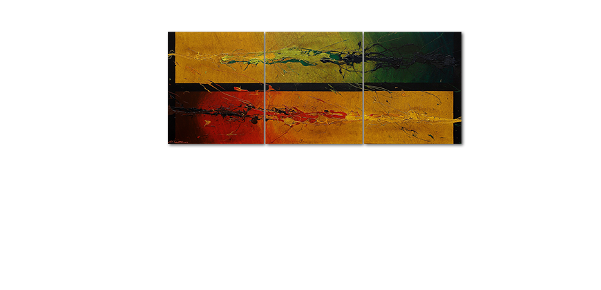 Modern painting Blowing Elements 180x70cm