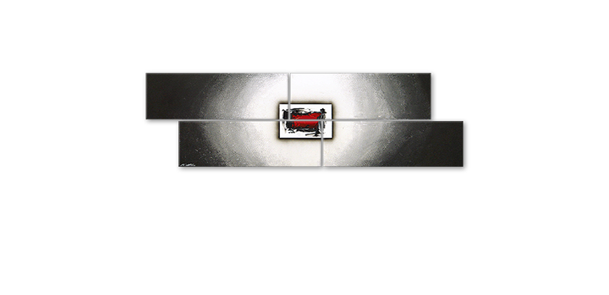 Painting Inner Glow in 200x60cm