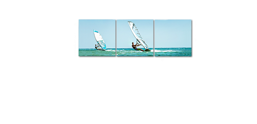 Canvas art Wind Surf 150x50cm