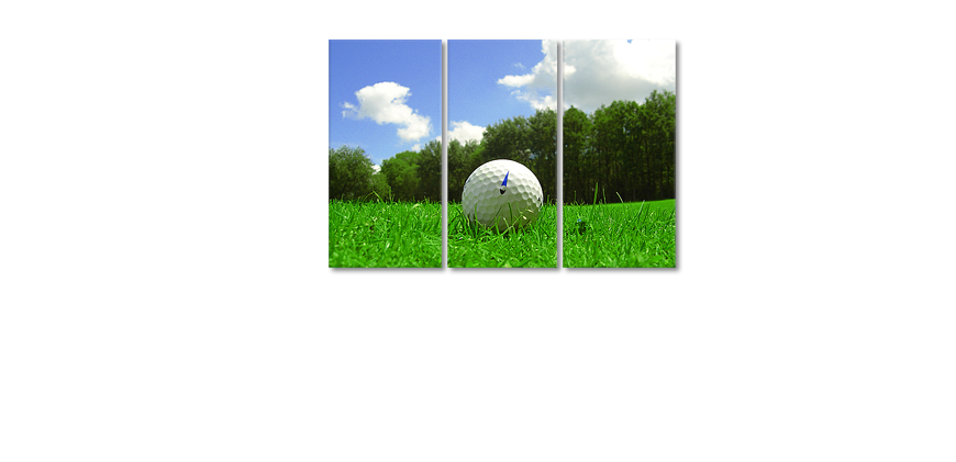 Golf Course 120x80cm art print