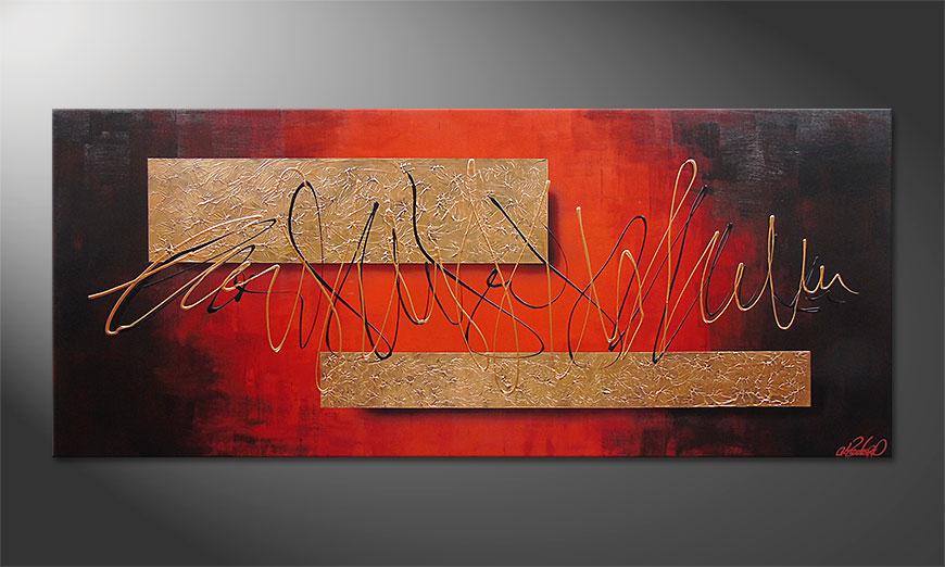 Wall art Golden Works 180x80x2cm