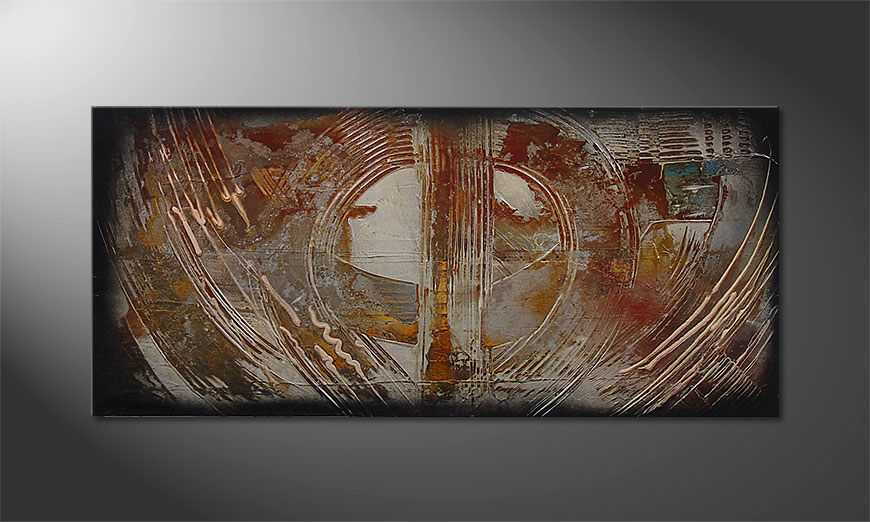 Traces of Past 110x50cm