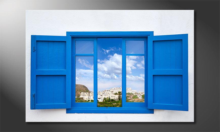 Almeria View art print