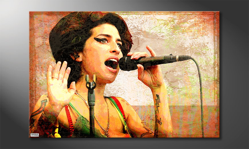 Art print Amy