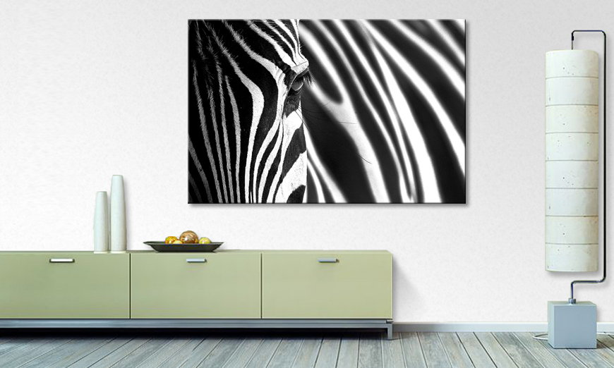 Art print Animal Stripes
