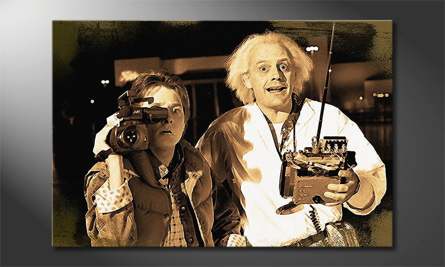 Art print Back to the future Moment
