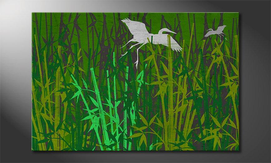 Art print Bamboo