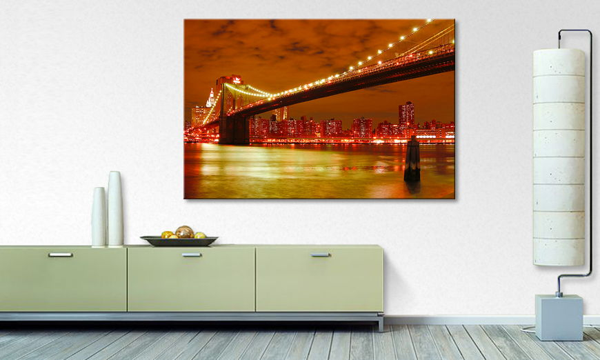Art print Brooklyn Bridge