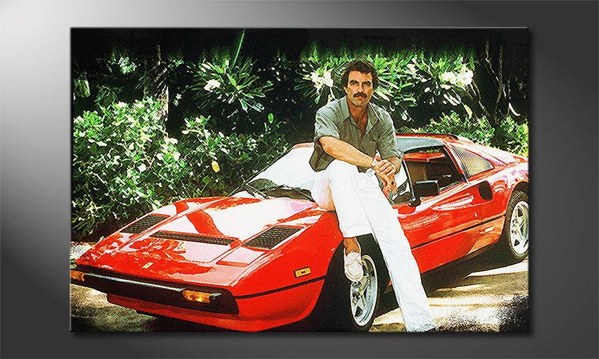 Art print Ferrari Magnum