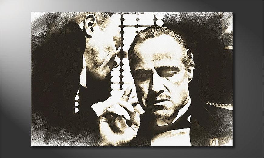 Art print Godfather