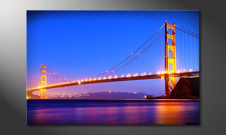 Art print Golden Gate
