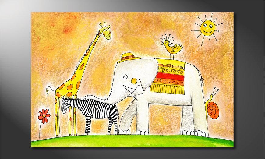 Art print Group of Animals