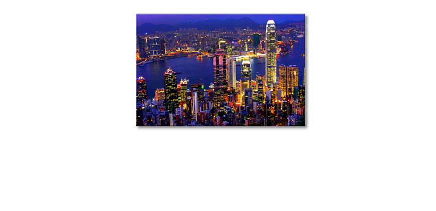 Art-print-Hongkong-View