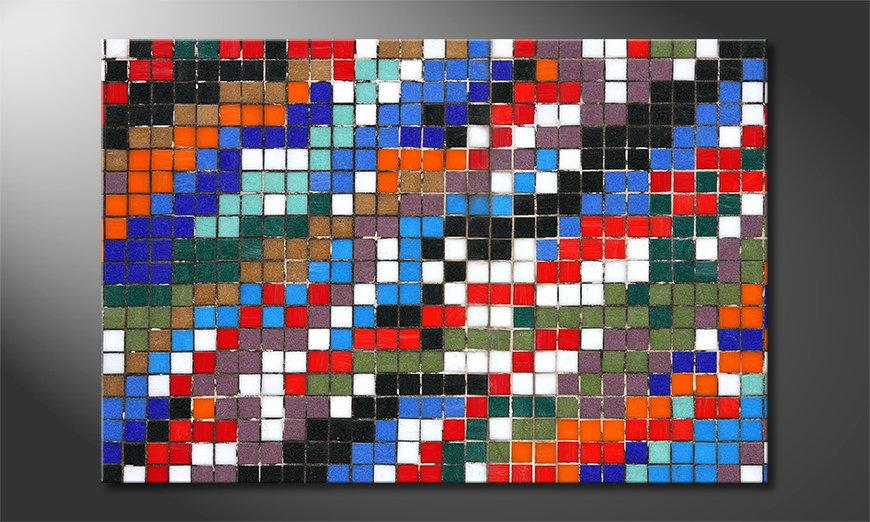 Art print Mosaic