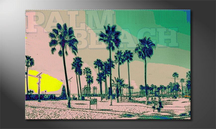 Art print Palm Beach