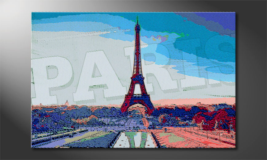Art print Paris in different sizes