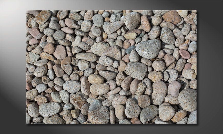 Art print Pebble Stones
