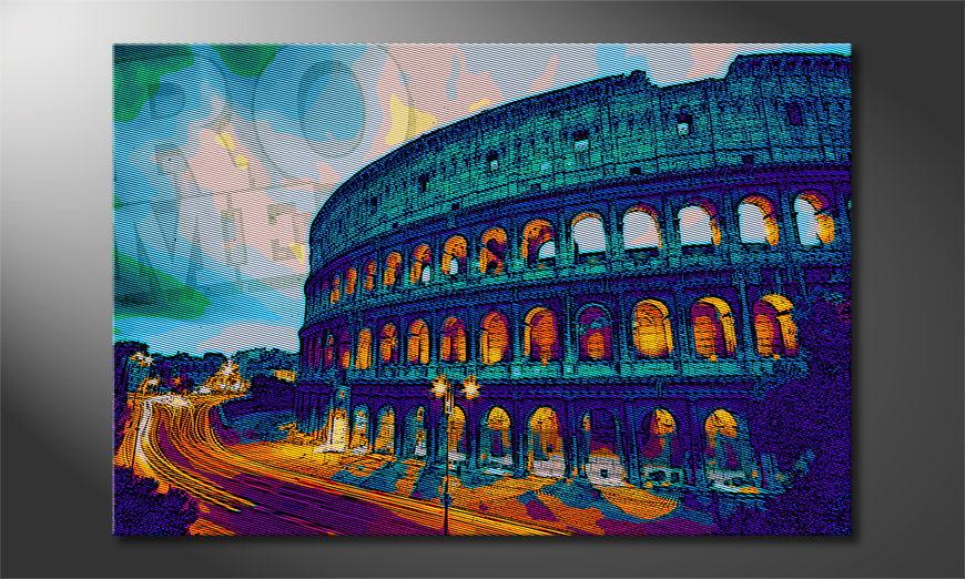 Art print Rome in 6 sizes