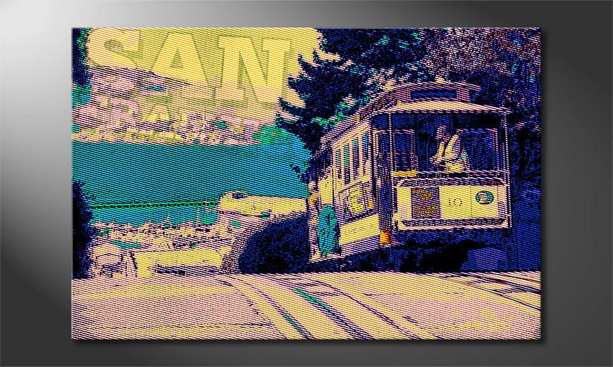 Art print San Francisco
