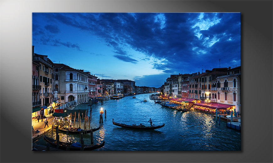 Art print Venice Sunset