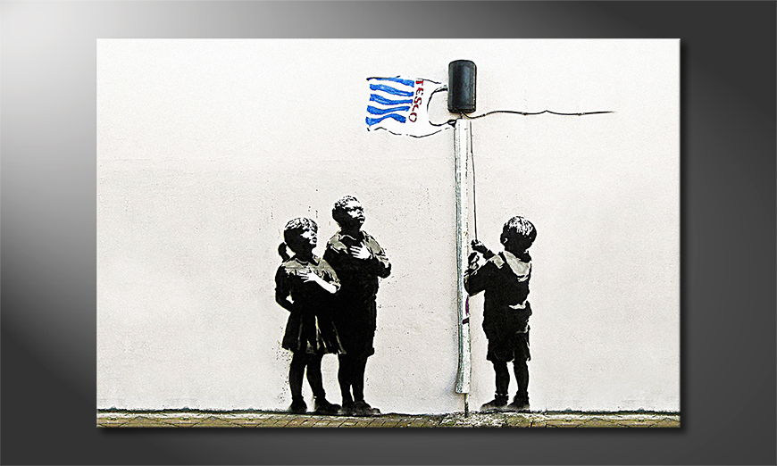 Canvas-print-Banksy-No18
