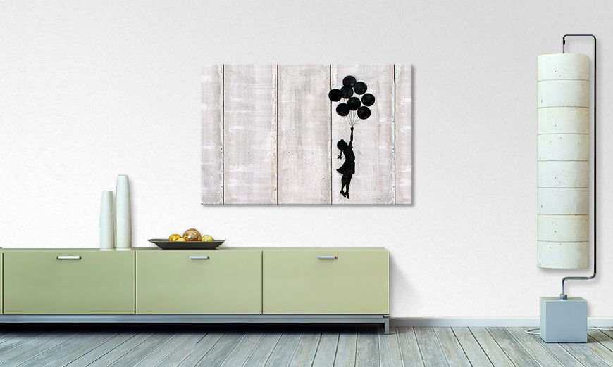 Canvas print Banksy No3