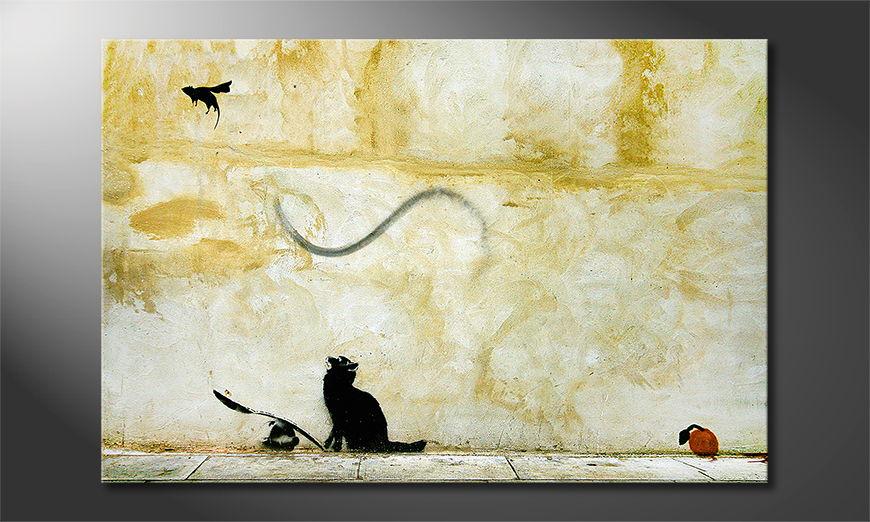 Canvas print Banksy No8