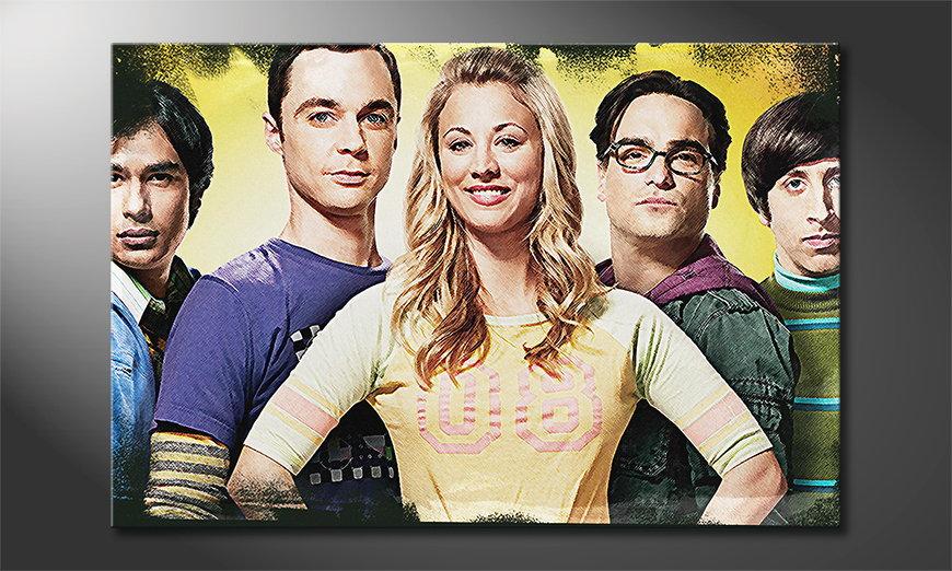 Canvas print Big Bang Theory