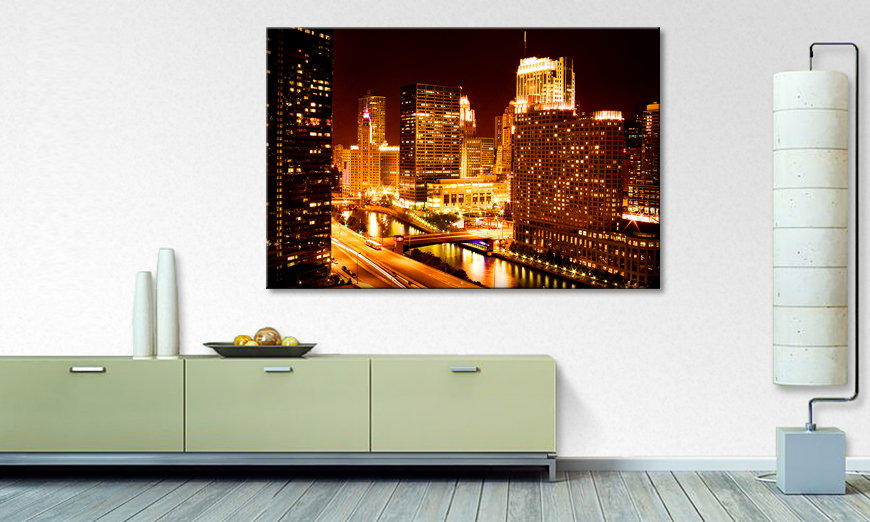 Canvas print East River