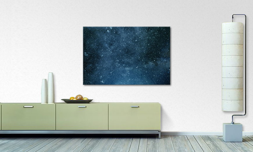 Canvas print Endless Space