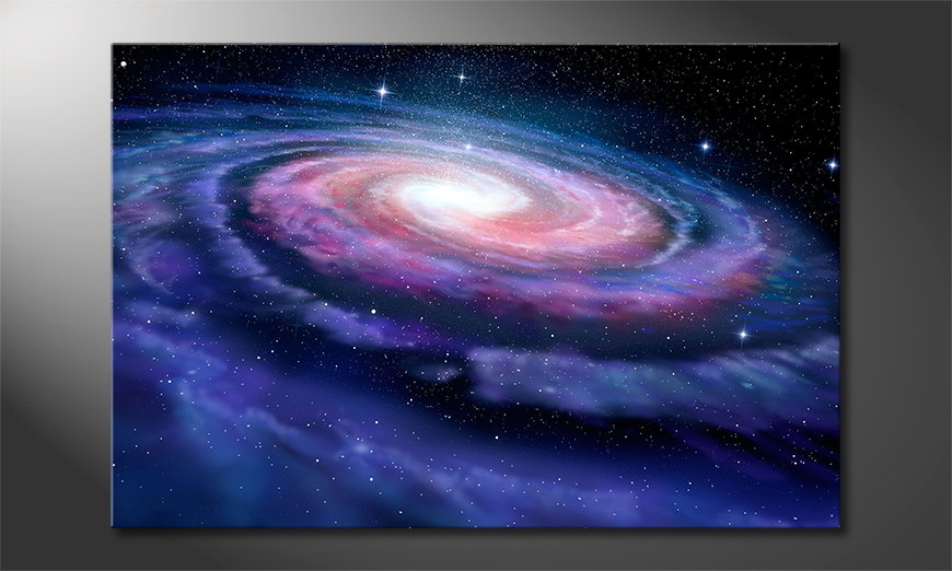 Canvas print Far Galaxy