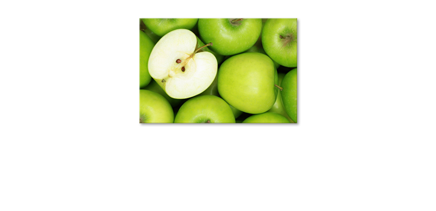 Canvas-print-Green-Apples