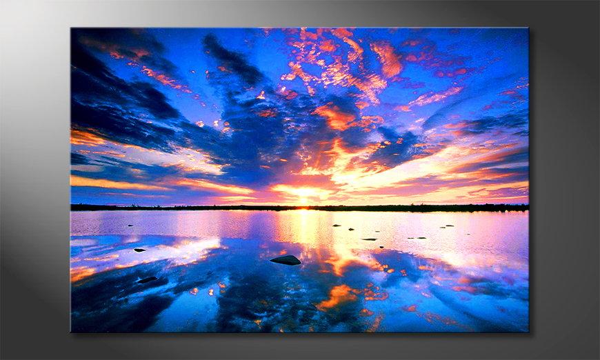 Canvas print Heaven on Earth