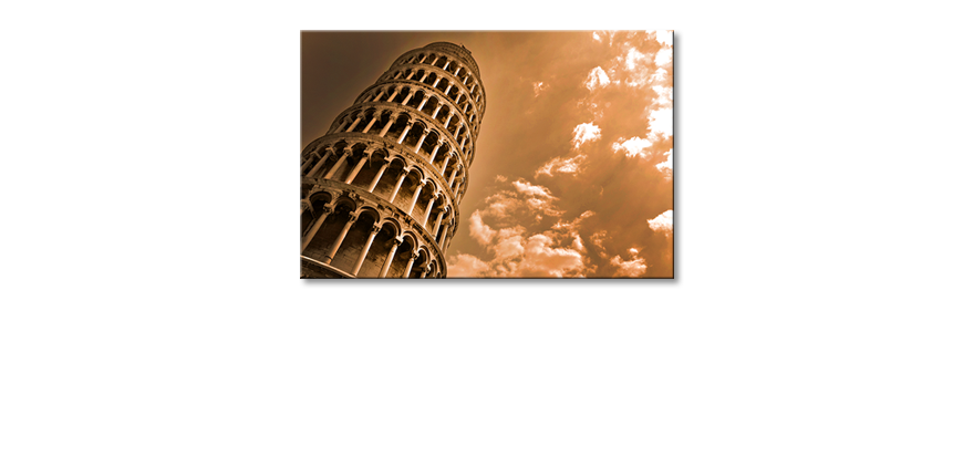 Canvas-print-Leaning-Tower