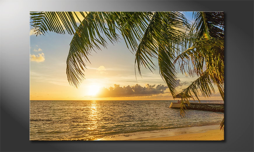 Canvas print Maledives