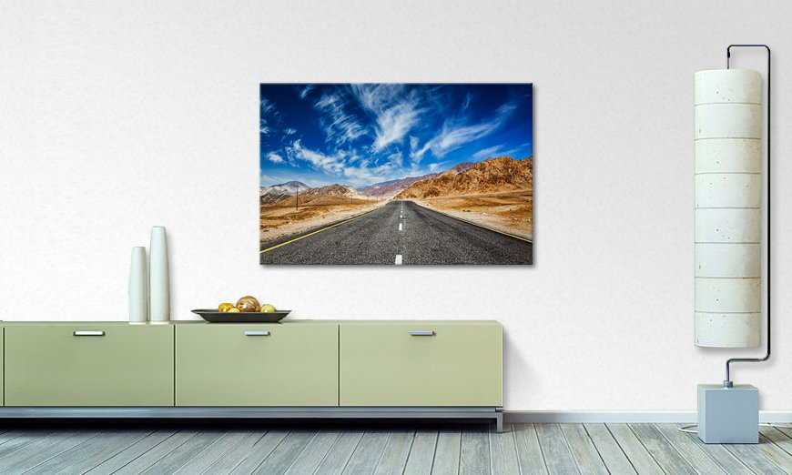 Canvas print Road to Nowhere