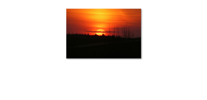 Canvas-print-Sunset-Sky