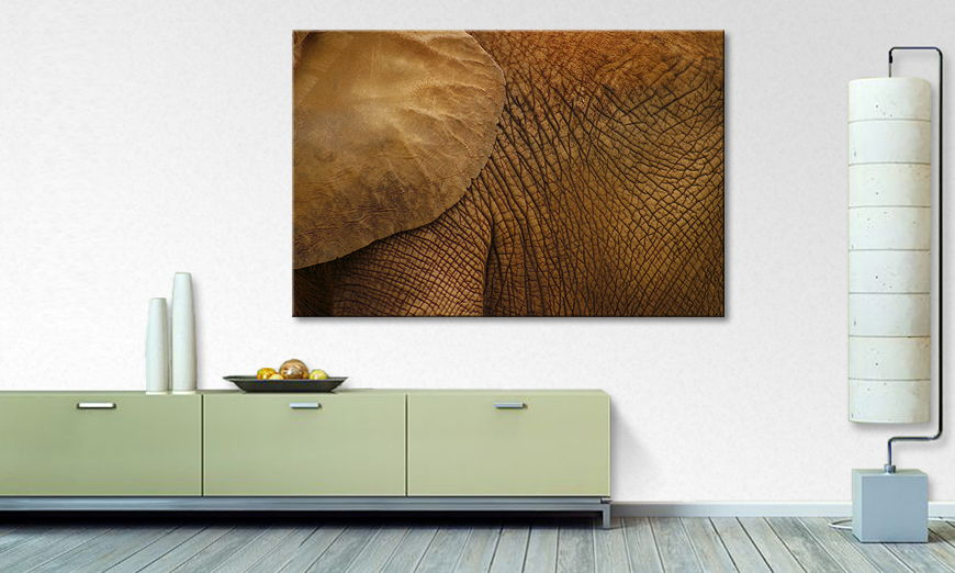 Canvas print The Giant